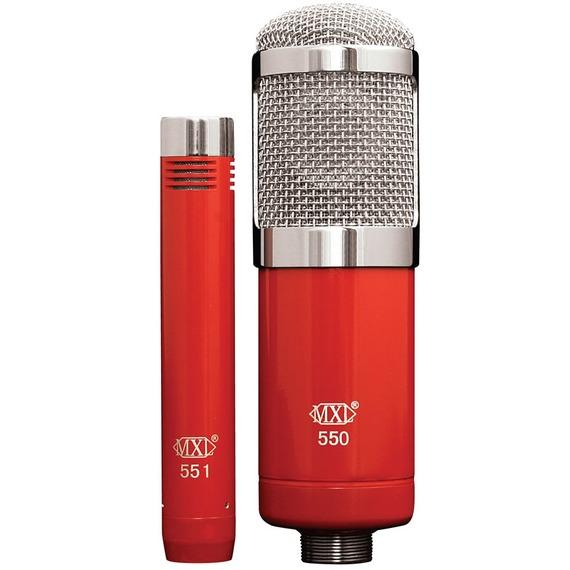 Mxl 550/551R - Vocal / Instrument Condenser Mic Pack