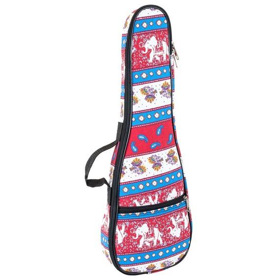 Tom & Will Ukulele Gig Bag - Tenor - Indian textile