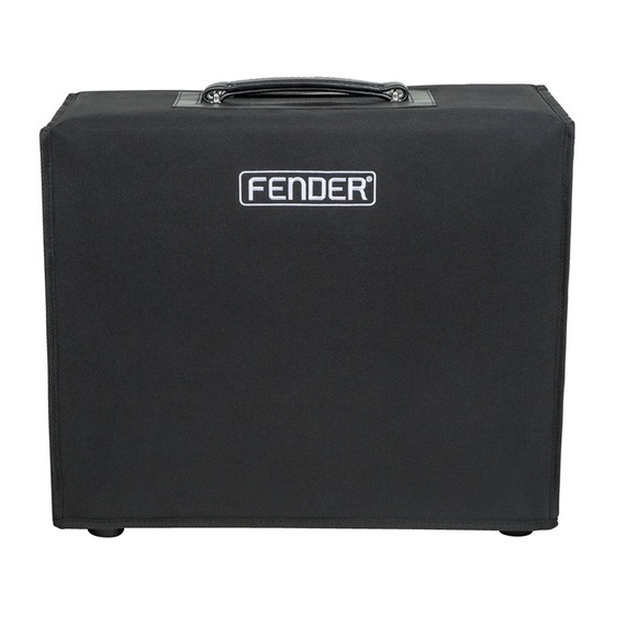 fender bassbreaker 15 combo cover giggear. Black Bedroom Furniture Sets. Home Design Ideas