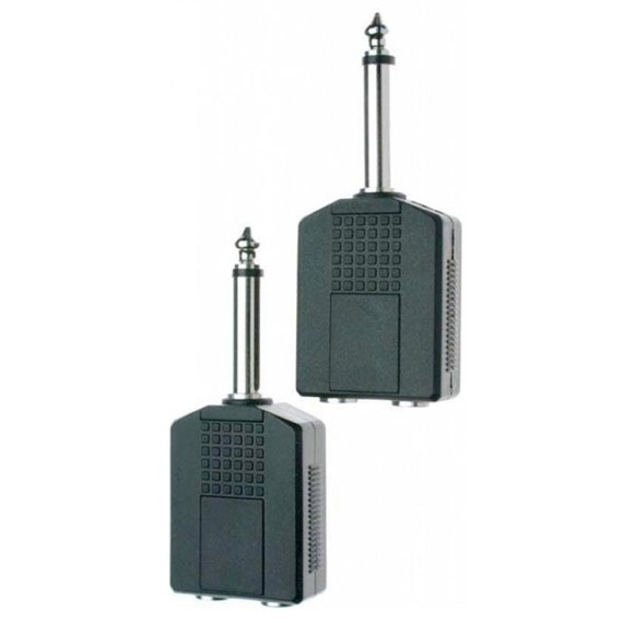 Stagg MONO 2 - 1 Adapter Jack 2 Pack