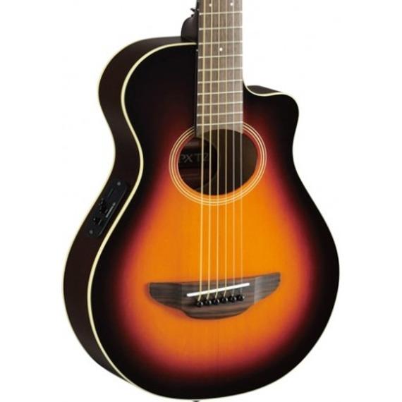 Yamaha APX T2 Travel Electro Acoustic - Old Violin Sunburst