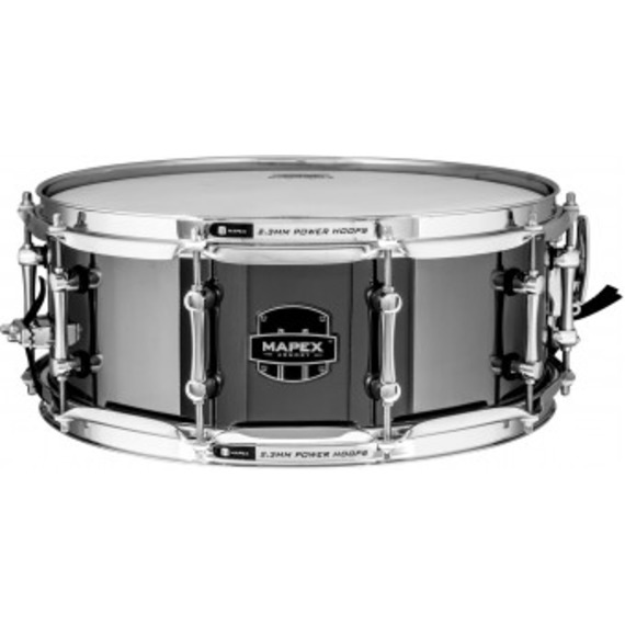 """Mapex Tomahawk Armory Series 14"""" x 5.5"""" Steel Snare"""