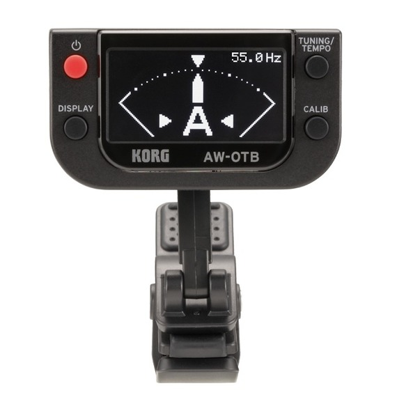 Korg AW-OTB Clip-On BASS Tuner with OLED Display