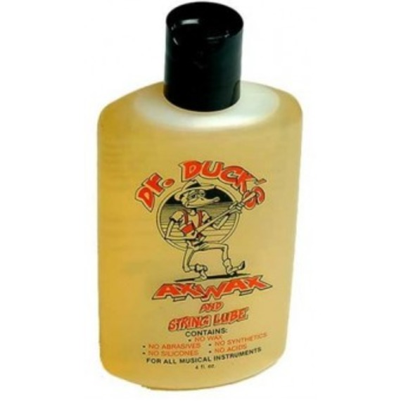 Dr Duck's Ax Wax - Guitar Cleaner and String Lube