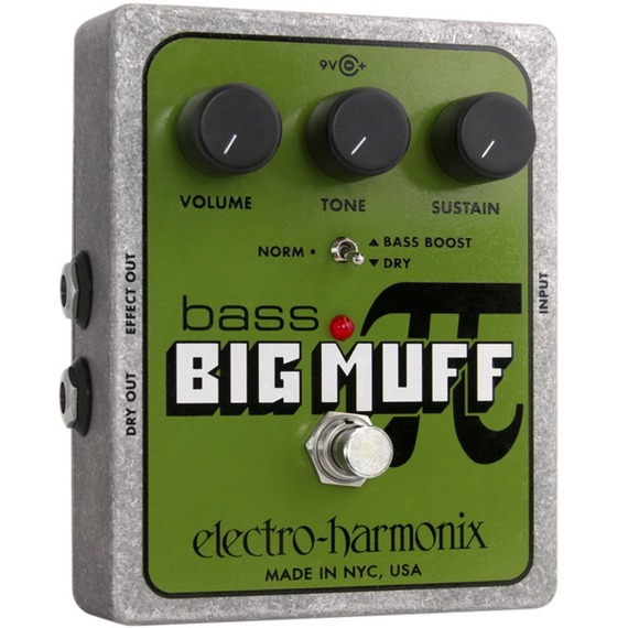 Electro Harmonix Bass Big Muff Pi - Bass Distortion Pedal