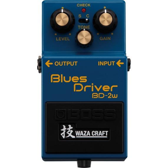 Boss BD-2w Blues Driver Pedal - Waza Craft Series