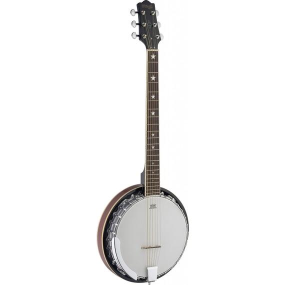 Stagg 6 (SIX) String Banjo - 30 Hook