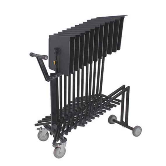 Hercules 12 x BS200B Music Stand and BSC200 Trolley Package