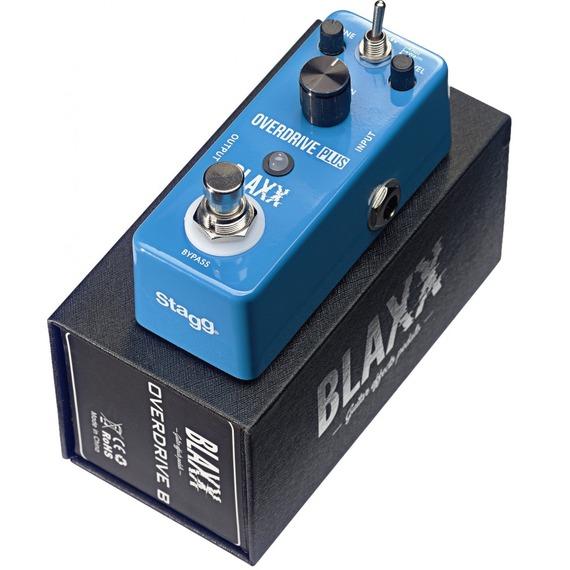 Stagg BLAXX Overdrive PLUS B - Mini Guitar Effects Pedal