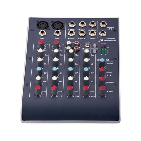 Studiomaster C2-2 - 4 Channel Mixer