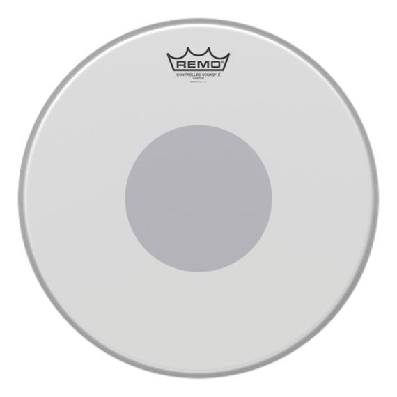"Remo CX Coated Black Underside Dot - 14"""