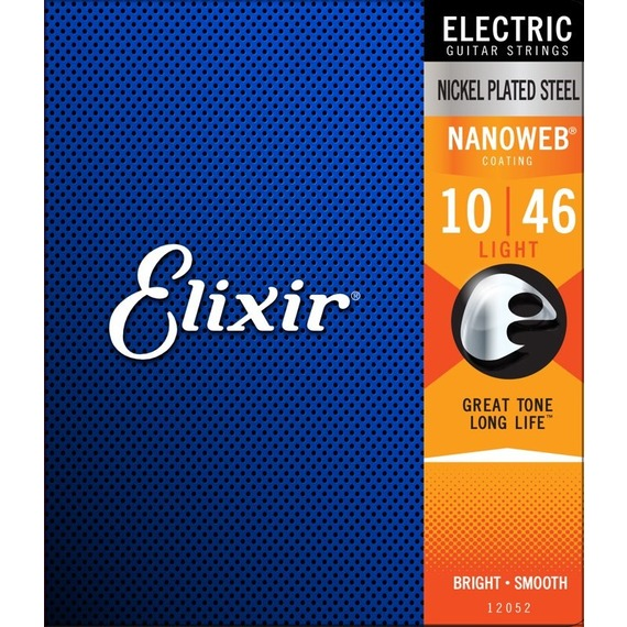 Elixir Nano Web Electric Light 10-46