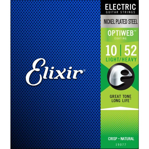 Elixir Nano Web Electric Light Top Heavy Bottom 10-52