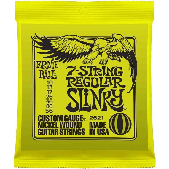 Ernie Ball Regular Slinky 7 String Guitar Strings