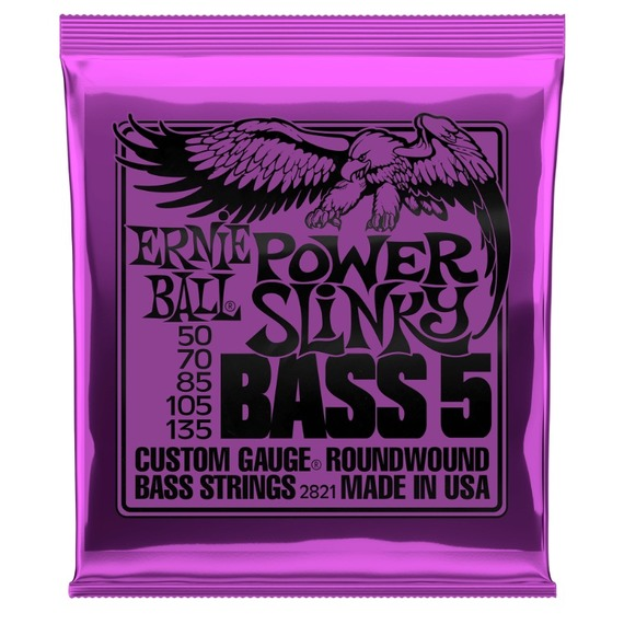 Ernie Ball Power Slinky 55 - 135 - BASS 5 STRING