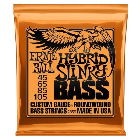Ernie Ball Hybrid Slinky Bass Guitar Strings