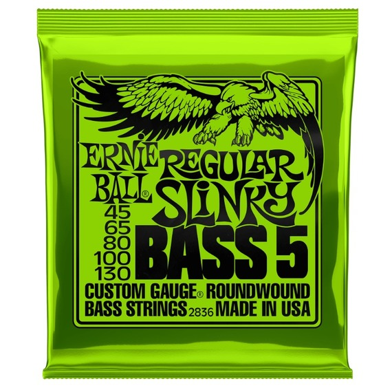 Ernie Ball Regular Slinky Bass - 5 String Set