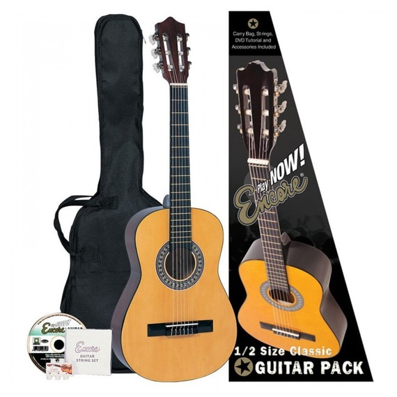 Encore 1/2 size Classical Guitar And Bag