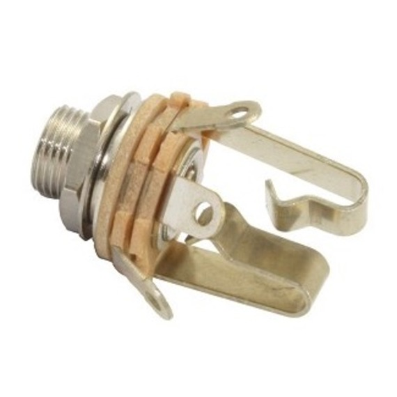 """Switchcraft 1/4"""" Stereo 3 Conductor Jack Socket"""
