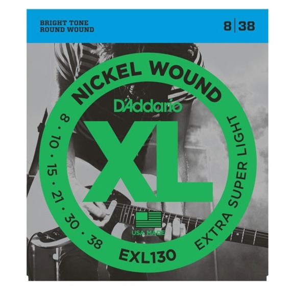D'addario EXL130 Electric Extra Super Light 8-38