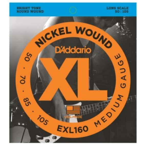 D'addario EXL160 Electric Bass Strings - 50-105