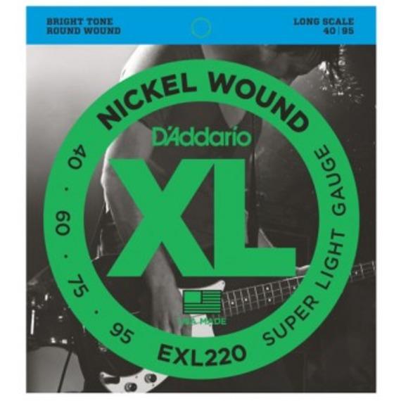 D'addario EXL220 Electric Bass Strings - 40-95
