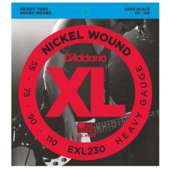 D'addario EXL230 Electric Bass Strings - 55-110