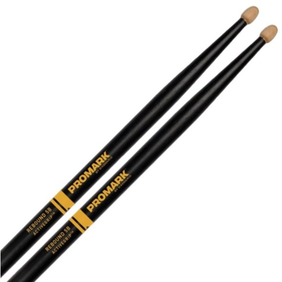 Promark Forward 5B ActiveGrip Acorn Drum Sticks