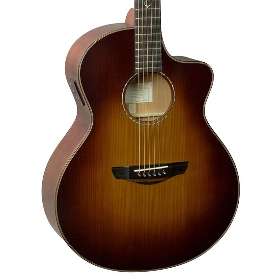 Faith Neptune Classic Burst Electro Acoustic 45mm Nut
