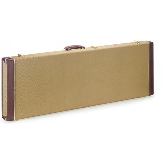 Stagg Wood Hardcase Tweed - Electric