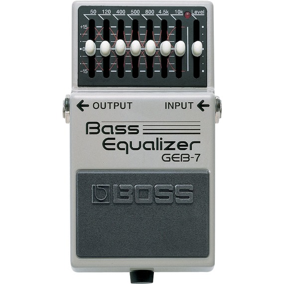Boss GEB7 Bass 7 Band EQ