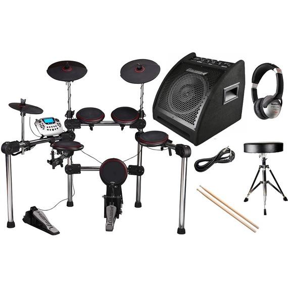Carlsbro CSD200 Electronic Drum Kit PACKAGE DEAL