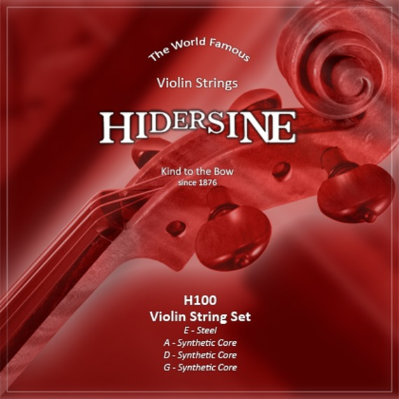 Hidersine Violin String Set Synthetic Core for 3/4 and 4/4