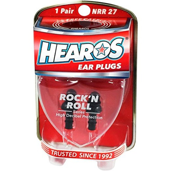 Hearos Rock and Roll Ear Plugs