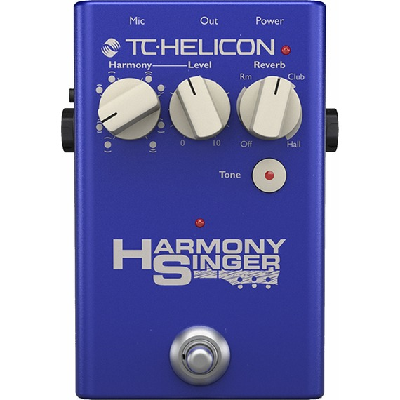 Tc Helicon Harmony Singer 2 - Vocal Processor Pedal