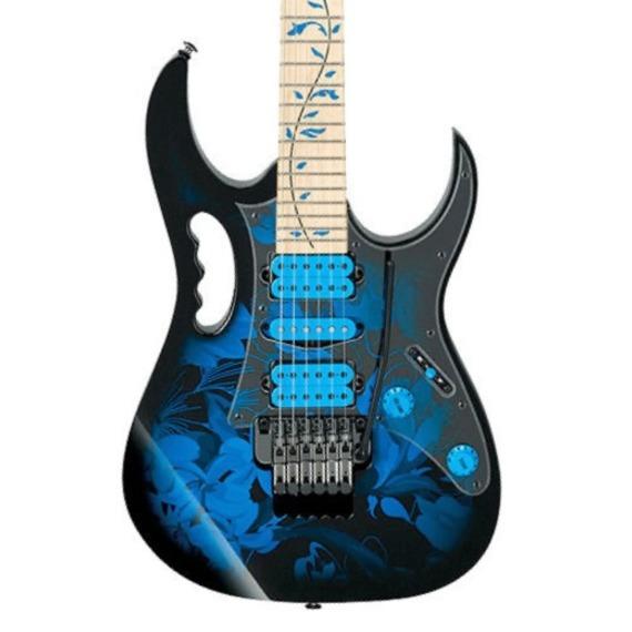 Ibanez JEM77P Steve Vai Signature Guitar - Blue Floral