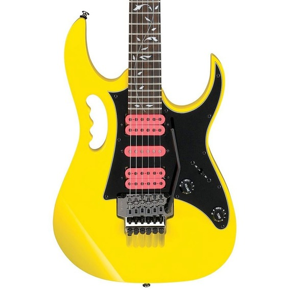 Ibanez Limited Edition Steve Vai JEM Jr - Yellow