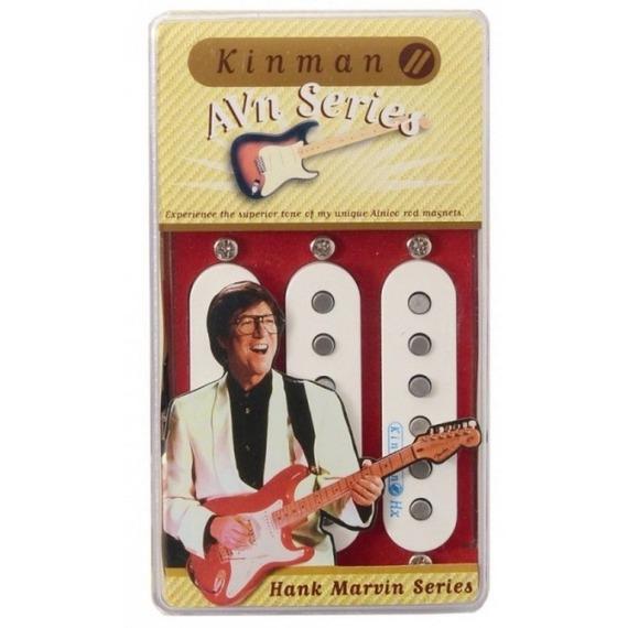 Kinman Hank Marvin Modern Strat Pickup Set - Zero hum
