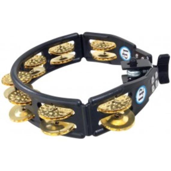Lp Cyclops Mountable Tambourine - Black / Brass