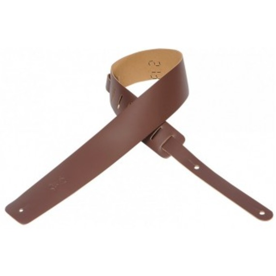 Levy's M1 Leather Guitar Strap - Brown