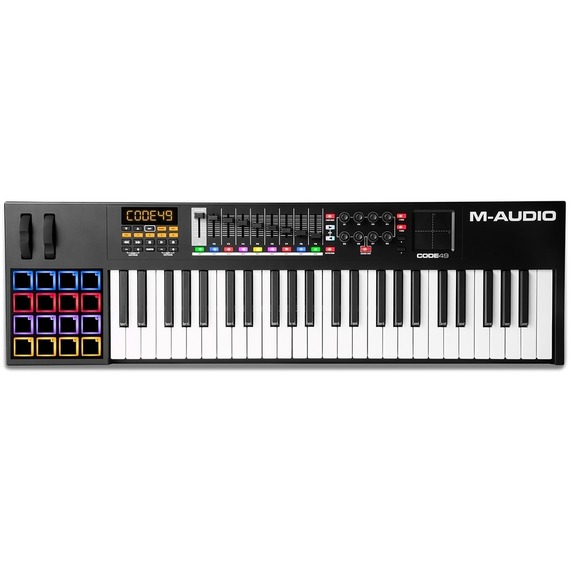 M-audio CODE 49 (Black) - USB MIDI Controller Keyboard