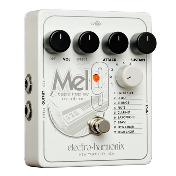 Electro Harmonix MEL9 - Mellotron 'Tape Replay Machine' Pedal