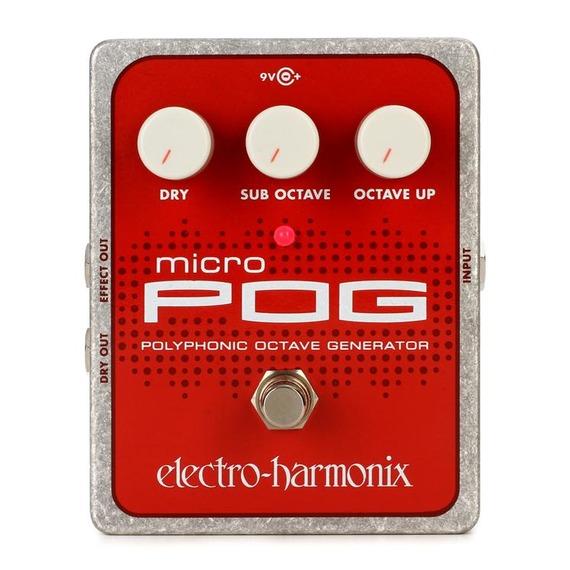Electro Harmonix MICRO Pog - Polyphonic Octave Generator