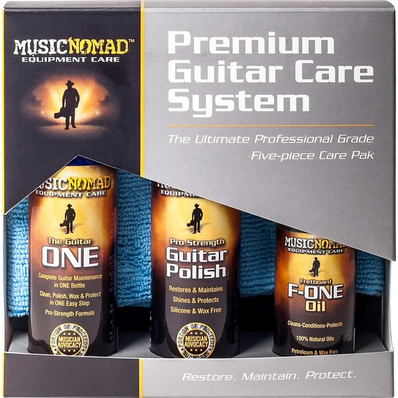 Music Nomad Premium Guitar Care Kit 5-Pack