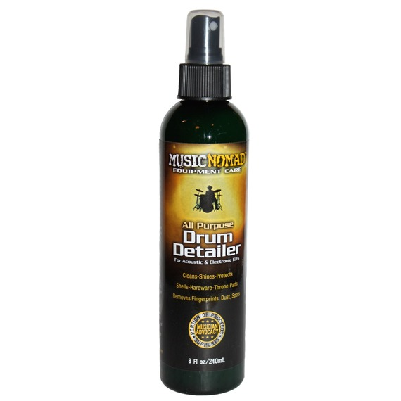 Music Nomad Drum Detailer - Acoustic / Electronic Drum Kit Cleaner