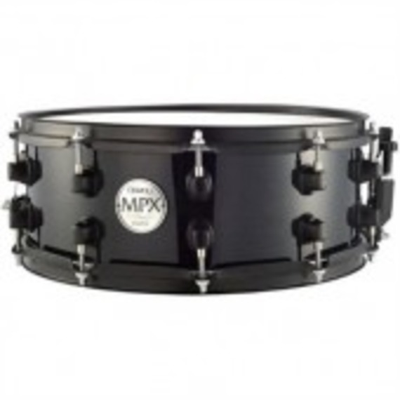 "Mapex MPX Series - Maple Snare Black - 14"" x 5.5"""