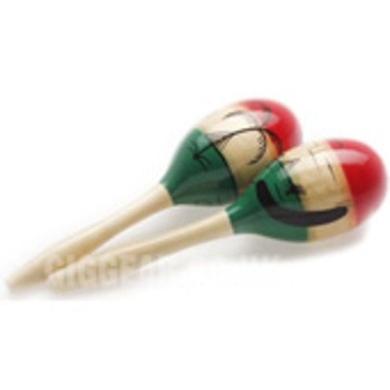 Stagg Large Wooden Maracas