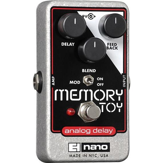 Electro Harmonix Memory Toy - Analog Delay Pedal with Modulation