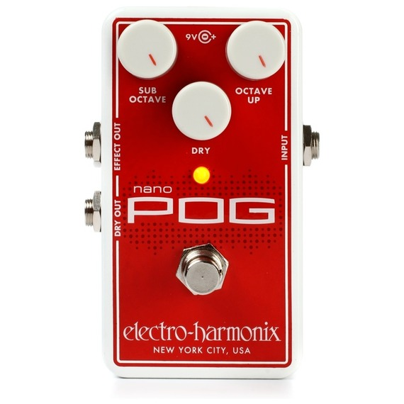 Electro Harmonix NANO Pog - Polyphonic Octave Generator