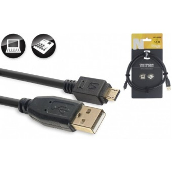 Stagg N-Series Micro USB Cable USB A - Micro USB A - 1.5 Metre